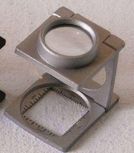 Lupa contafio em alumínio 2