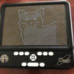 Desenho do gato em Braille