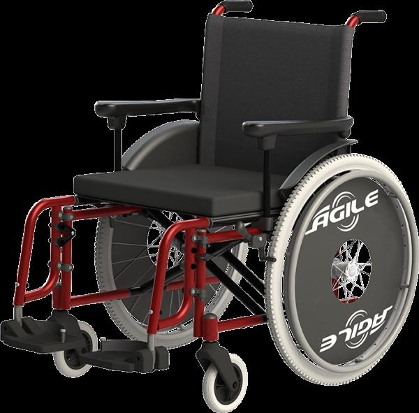 Cadeira de rodas em alumínio Agile