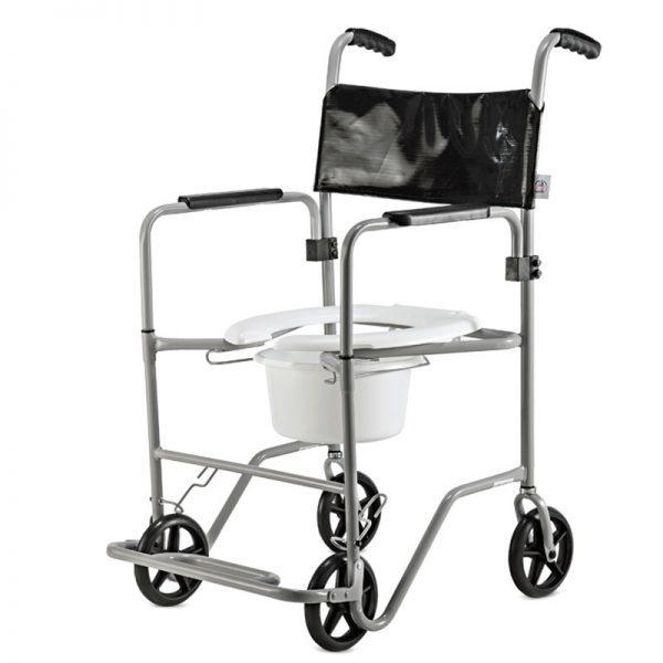 Cadeira para banho em aço BR Sanitário Recipiente