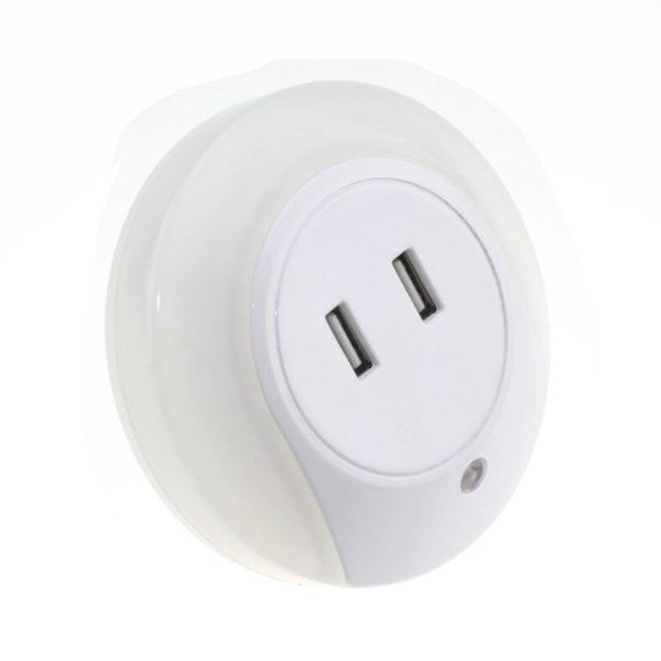 Luz Noturna com USB