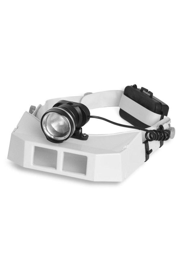 Lupa de Cabeça com 3 lentes Power LED. 1