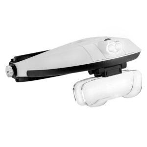 Lupa de Cabeça com LED e 5 lentes - ES