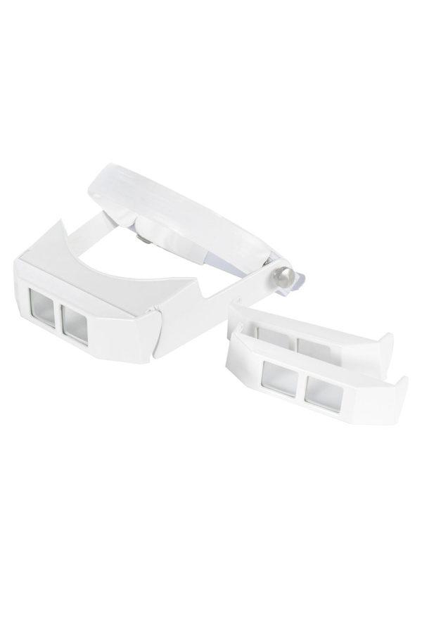 Lupa de Cabeça com Visor Articulado e 3 lentes.1