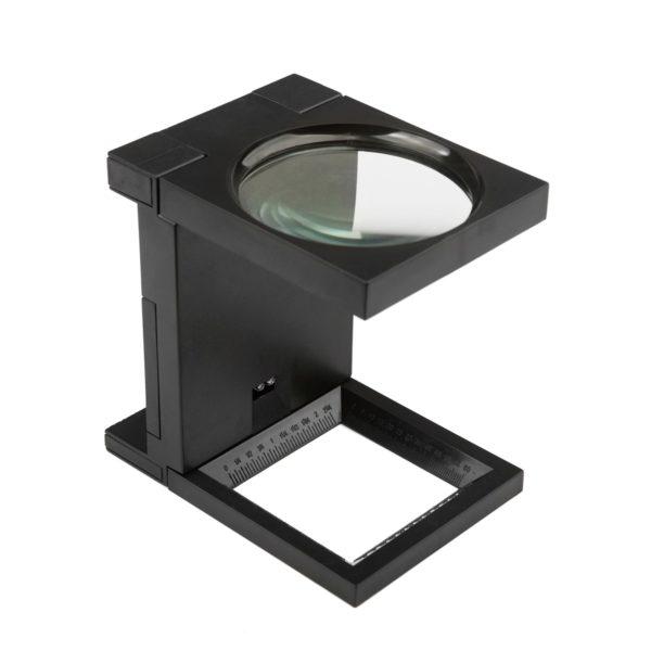 Lupa Conta Fio com LED 2,5x