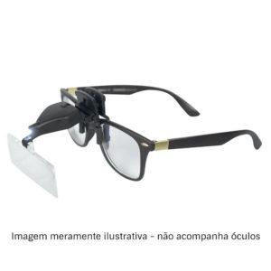 Lupa para óculos