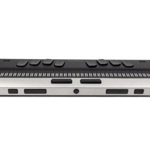 foto frontal da linha brailliant bi 40 x com teclado estilo Perkins, braille eltrônico e botões de controle